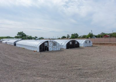Hoop Houses - Looking SE